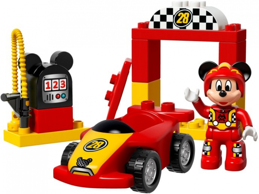 Mickey Racer 10843 Få Råd Til Flere Lego Klodser Med Klodspriser