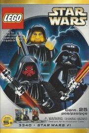 Emperor Palpatine, Darth Maul and Darth Vader Minifig Pack - Star Wars #1