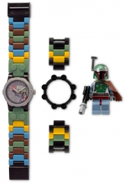 Star Wars with Boba Fett Minifigure Watch