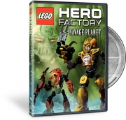 Hero Factory Savage Planet DVD