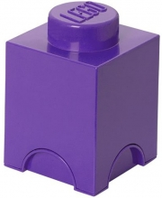 LEGO Friends Storage Brick 1 Medium Lilac