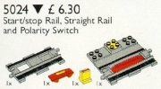 Duplo Start / Stop Rail, Single Rail, Change of Direction Switch