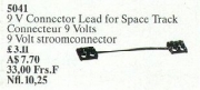 Space Track Connector Lead 9 V (10 cm)