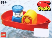 Bath-Toy Boat