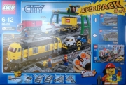 City Trains Super Pack 4-in-1