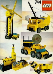 Universal Building Set with Motor, 7+