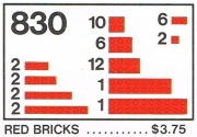 Red Bricks Parts Pack