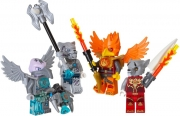 Fire and Ice Minifigure Accessory Set